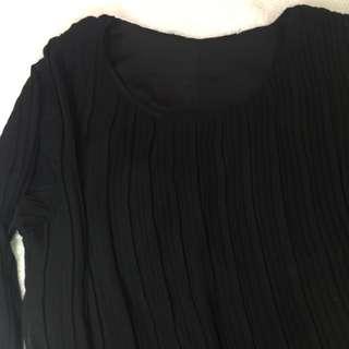 Black Chifon Dress
