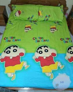 Cartoon bedsheets