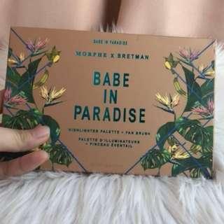 BABE IN PARADISE MORPHE X BRETMAN