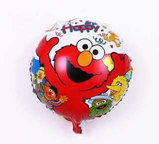Elmo and friends Foil balloons 18""