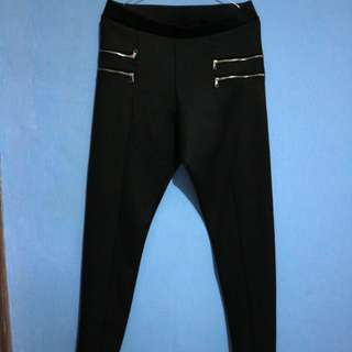 Devided H&M black trousers