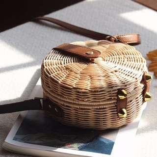 🆓POSTAGE Rattan Bag