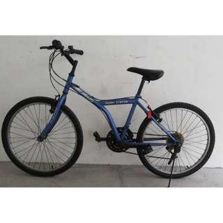 mtb mountain bike hybrid bicycle Shimano gears Very good condition