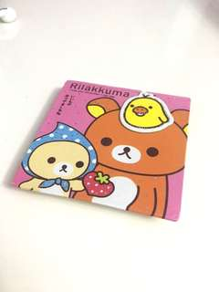 rilakkuma notebook hard cover