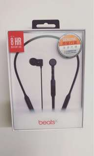Brand new, unopened Beats by DrBeatsX Wireless Earphones(with Remote Talk) Black