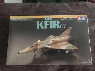 Aircraft Hobby Model Kits; IAI KFIR C7