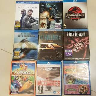 Imported Bluray for sale