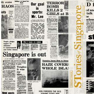 FRONT PAGE STories of Singapore since 1845