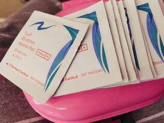 消毒濕紙巾(診所打針都用呢隻)