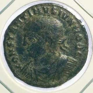 Constantine I Roman Campgate coin 326 - 328 AD