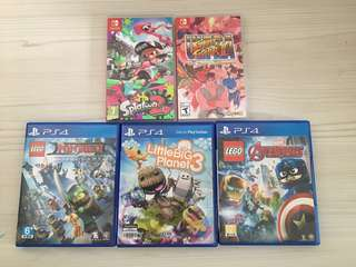 (ALL SOLD) PS4 /Switch Game