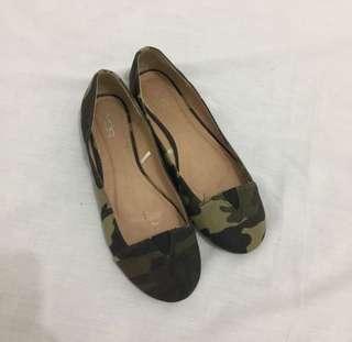 VNC Army Flatshoes