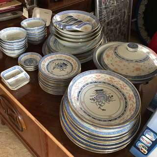 Chinese 70's Dining Ware