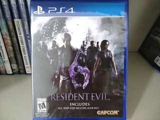 PS4 - Resident Evil 6