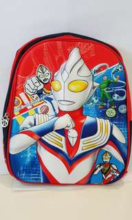 3D School Bag - Ultraman Red