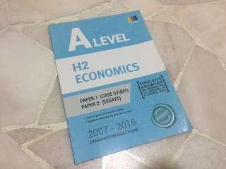 A Levels H2 Economics Case Study + Essay Questions