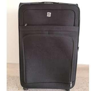 Swiss Polo 4-Wheel Luggage 26'' BLACK