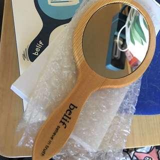 Belif 木製手鏡