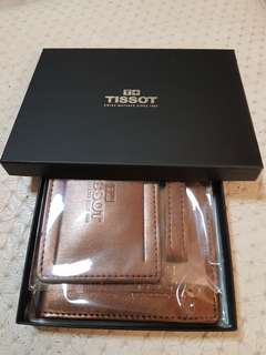 Tissot passport holder n luggage tag