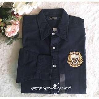 POLO Ralph Lauren Long Sleeve Shirt for Women in Navy