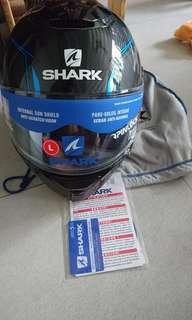 Shark Spartan Carbon
