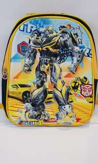 3D School Bag - Transformers Bumblebee