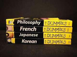 Preloved Dummies Books