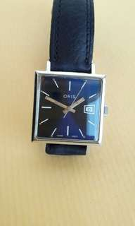 Raya Offer-Oris Shiny Blue Dial Wrist Watch