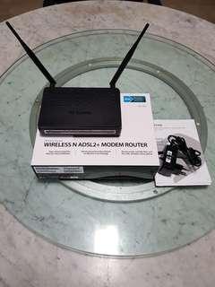 D-Link ADSL Wireless Router DSL-2750U