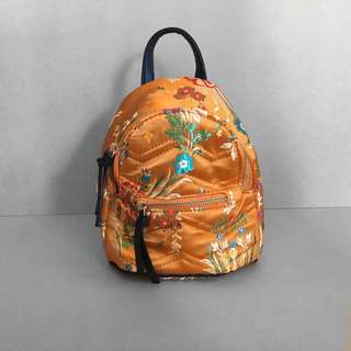 New, never used mini embroidered backpack.