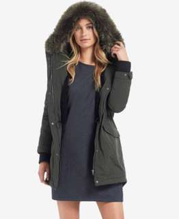 Seed Heritage Fur Trim Anorak/ Parka/ Jacket