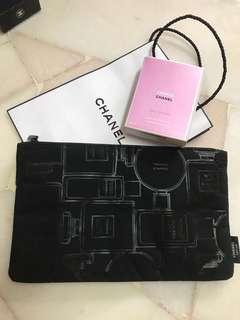 Chanel complimentary pouch