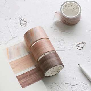 (PO) Marble and Wood Washi Tapes