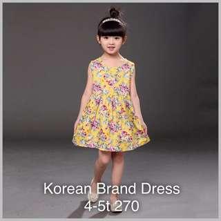 Dress for girls kids