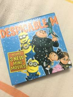 despicable me notebook hard cover