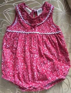 Pre-loved Baby Girl's onesie