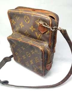 Vintage Louis Vuitton Monogram Reporter Bag Eclair Zipper