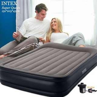 INTEX Airbed Dura-Beam Queen Deluxe