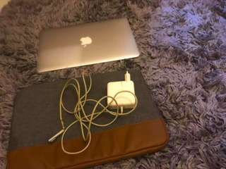 Macbook air mid 2011 bonus Hardcase APPLE