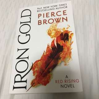 Iron Gold - book 4 of Red Rising series from Pierce Brown