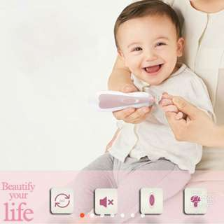 👼🏻Automatic Baby nail trimmer LED (pain free)