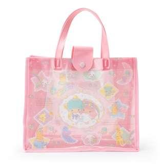 Japan Sanrio Little Twin Stars Vinyl Bag
