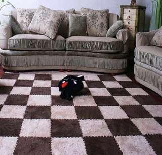 Foamy carpet puzzle