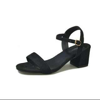 Sandal heel shoes
