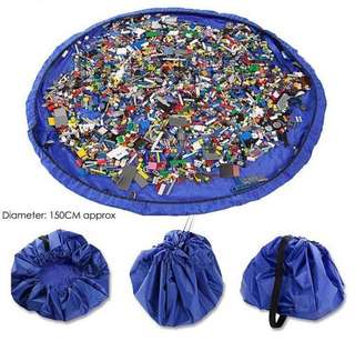 2 in 1 - Lego large toy mat (150cm)