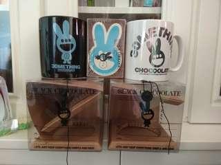 Chocoolate  mug 陶瓷大杯 黑白一對