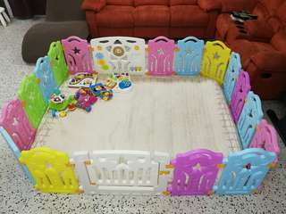 Playard for your baby safe crawling