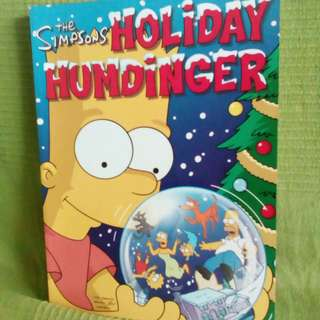 Simpsons Holiday Book