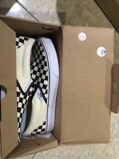 Vans Checkerboard Slip On ori