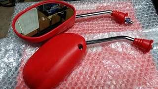 Yamaha Side Mirror Red J Stream Limited Uma Koso Mhr Sgv Visor Smoke Sgv Uma Racing  Yamaha Spark Y15zr Jupiter Mx King 150 Yamaha Rxz Lc 135 X1r Honda Kawasaki Super 4 Kappa Box Givi Agv Arai Ram 3 Shoei J Force 2 3 125z Tsr Arc Helmet Yamaha Rxz
